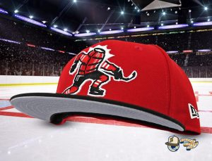 Celly Red Black 59Fifty Fitted Cap by Noble North x New Era