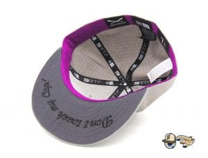 Crossed Bats Grey Ripstop 59Fifty Fitted Cap by JustFitteds x New Era Undervisor
