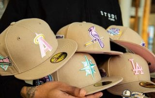 Hat Club Exclusive Sandstorm MLB April 2021 59Fifty Fitted Hat Collection by MLB x New Era