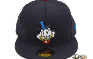 JustFitteds Exclusive Ducktales Scrooge McDuck 59Fifty Fitted Cap by Disney x New Era