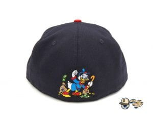 JustFitteds Exclusive Ducktales Scrooge McDuck 59Fifty Fitted Cap by Disney x New Era Back