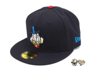 JustFitteds Exclusive Ducktales Scrooge McDuck 59Fifty Fitted Cap by Disney x New Era Left