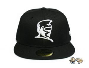 Kamehameha Black Red Blue 59Fifty Fitted Cap by Fitted Hawaii x New Era Black