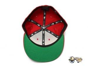 Kamehameha Black Red Blue 59Fifty Fitted Cap by Fitted Hawaii x New Era Undervisor