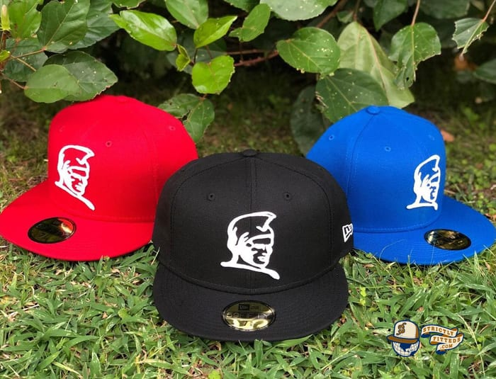 Kamehameha Black Red Blue 59Fifty Fitted Cap by Fitted Hawaii x New Era