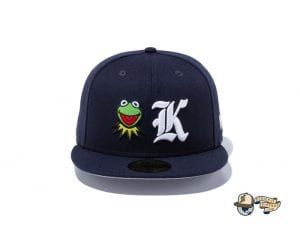 Kermit 59Fifty Fitted Cap by Kermit The Frog x New Era Front