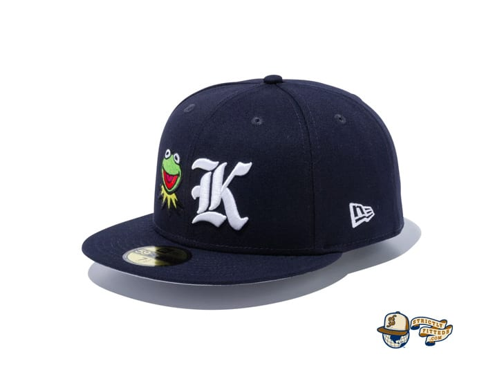 Kermit 59Fifty Fitted Cap by Kermit The Frog x New Era