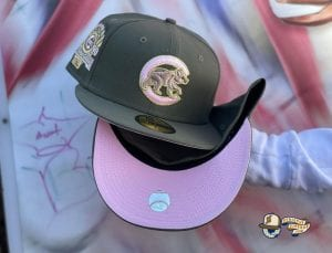 Pink Bottom Special 59Fifty Fitted Cap Collection by MLB x Exclusive Fitted x New Era Cubs