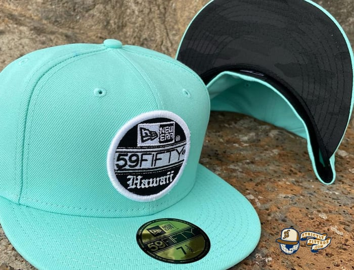 59Fifty Flagship Hawaii 59Fifty Fitted Cap by 808allday x New Era