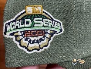 Arizona Diamondbacks 2001 World Series 59Fifty Fitted Cap by MLB x New Era Side