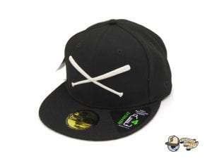 Crossed Bats Repreve 59Fifty Fitted Cap by JustFitteds x New Era Left