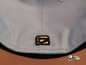Flying Pigs Sky Blue Kelly Green 59Fifty Fitted Hat by Dionic x New Era Back
