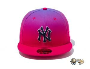 Gradient New York Yankees 59Fifty Fitted Cap by MLB x New Era Front