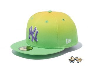 Gradient New York Yankees 59Fifty Fitted Cap by MLB x New Era Left