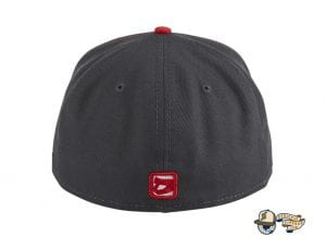 Hadleys Hope Stompers White Cardinal 59Fifty Fitted Hat by Dionic x New Era Back