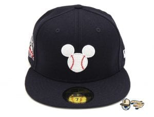 JustFitteds Exclusive Mickey Mouse 59Fifty Fitted Cap by Disney x New Era Front