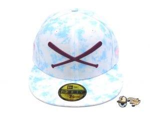 JustFitteds Sakura 2021 Tie Dye 59Fifty Fitted Cap by JustFitteds x New Era