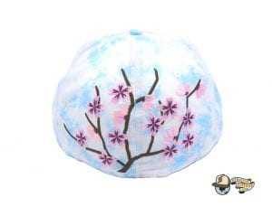 JustFitteds Sakura 2021 Tie Dye 59Fifty Fitted Cap by JustFitteds x New Era Back