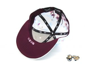 JustFitteds Sakura 2021 Tie Dye 59Fifty Fitted Cap by JustFitteds x New Era Bottom