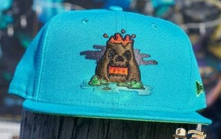 King Cano Teal Island Green 59Fifty Fitted Hat by Dionic x New Era