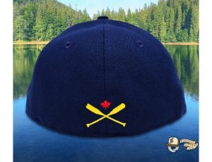 Lake Captain's Light Navy Blue Jewel 59Fifty Fitted Cap by Noble North x New Era Back