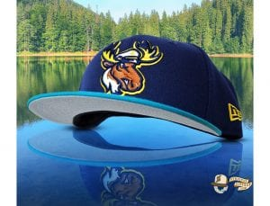 Lake Captain's Light Navy Blue Jewel 59Fifty Fitted Cap by Noble North x New Era Left