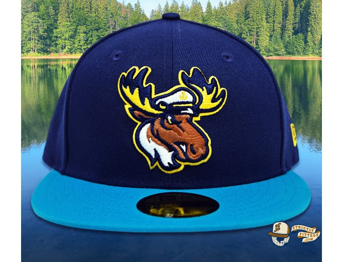 Lake Captain's Light Navy Blue Jewel 59Fifty Fitted Cap by Noble North x New Era