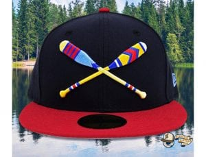 Lake Paddles 59Fifty Fitted Cap by Noble North x New Era Navy