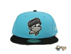 Masked Paperboy 59Fifty Fitted Cap by Headliners x New Era Blue