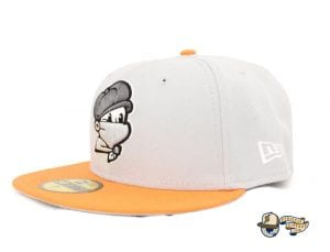 Masked Paperboy 59Fifty Fitted Cap by Headliners x New Era Grey
