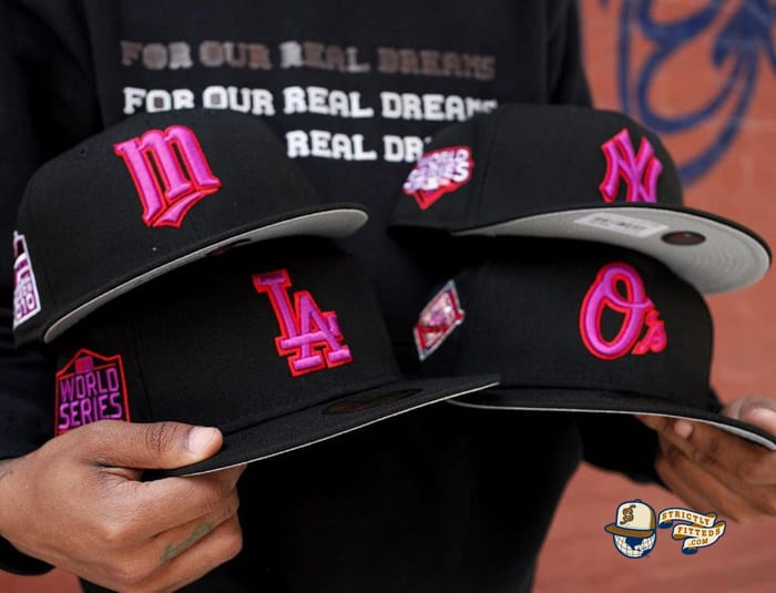 Moon Rocks MLB 59Fifty Fitted Hat Collection by MLB x New Era