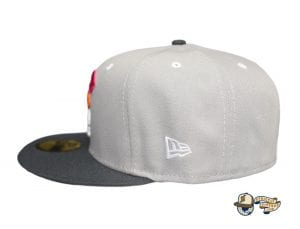 Mua Gray Graphite Multi 59Fifty Fitted Cap by Fitted Hawaii x New Era Side