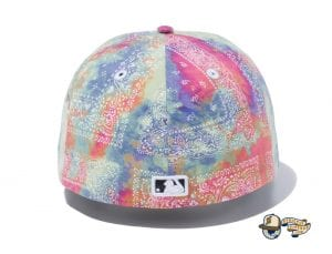 New York Yankees Tie Dye Paisley 59Fifty Fitted Cap by MLB x New Era Back