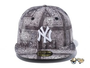 New York Yankees Tie Dye Paisley 59Fifty Fitted Cap by MLB x New Era Front