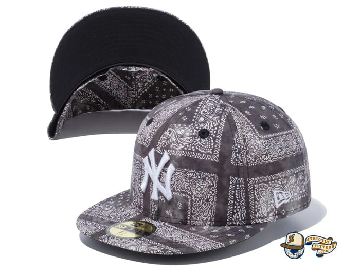 New York Yankees Tie Dye Paisley 59Fifty Fitted Cap by MLB x New Era