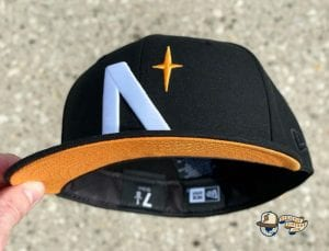 North Star Summer UV Pack 59Fifty Fitted Cap Collection by Noble North x New Era Orange