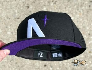North Star Summer UV Pack 59Fifty Fitted Cap Collection by Noble North x New Era Purple