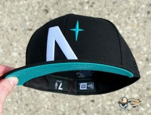 North Star Summer UV Pack 59Fifty Fitted Cap Collection by Noble North x New Era Teal