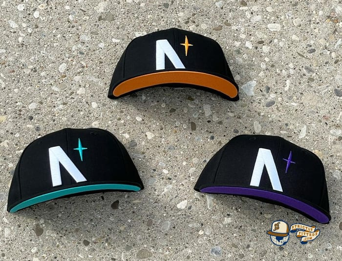 North Star Summer UV Pack 59Fifty Fitted Cap Collection by Noble North x New Era