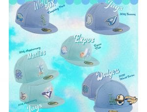 Sugar Shack MLB 59Fifty Fitted Hat Collection by MLB x New Era Patch