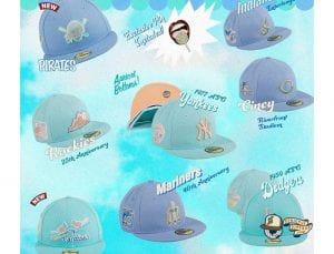 Sugar Shack MLB 59Fifty Fitted Hat Collection by MLB x New Era Pin