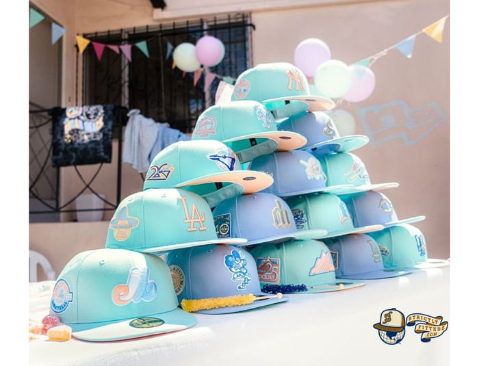 Sugar Shack MLB 59Fifty Fitted Hat Collection by MLB x New Era