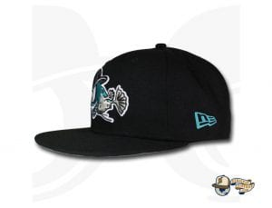 The Angerfish 59Fifty Fitted Cap by Over Your Head x New Era Left