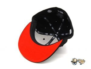 The Jetsons Custom Black 59Fifty Fitted Cap by The Jetsons x New Era Bottom