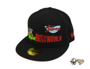 The Jetsons Custom Black 59Fifty Fitted Cap by The Jetsons x New Era Left