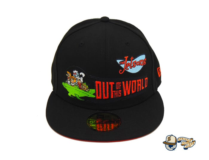 The Jetsons Custom Black 59Fifty Fitted Cap by The Jetsons x New Era