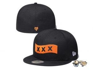 Yomiuri Giants God Selection XXX 59Fifty Fitted Cap Collection by God Selection XXX x NPB x New Era Orange