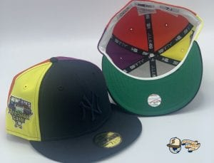 Bronx Social Exclusive New York Yankees Pinwheel 2006 All Star Game 59Fifty Fitted Cap by MLB x New Era