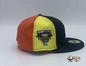 Bronx Social Exclusive New York Yankees Pinwheel 2006 All Star Game 59Fifty Fitted Cap by MLB x New Era Side