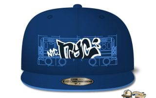 Brooklyn Blueprints 59Fifty Fitted Cap by The Clink Room x New Era